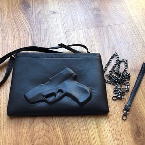 Handbags - BNWOT Gun Crossbody/Clutch